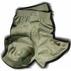 Shamrock Green Chambray